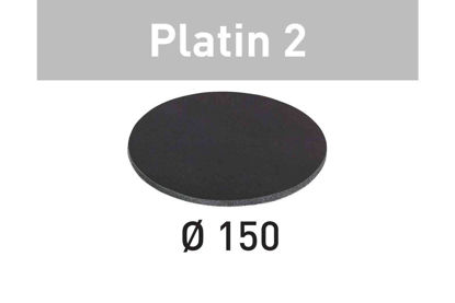 Picture of Abrasive sheet Platin 2 STF D150/0 S500 PL2/15