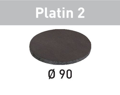 Picture of Abrasive sheet Platin 2 STF D 90/0 S4000 PL2/15