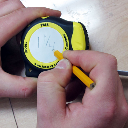 Picture of 25ft METRIC/STANDARD TAPE MEASURE