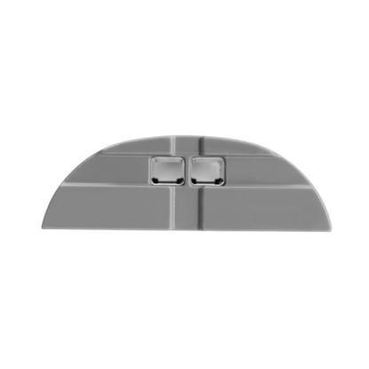 Picture of Curved Infinex End Caps, Gray
